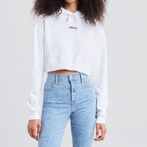 Levi's Tops - Levi's Cropped Hoodie